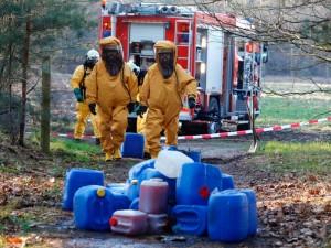 opruimen dumping syntetische drugs (XTC)
